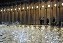venezia sott'acqua alta marea