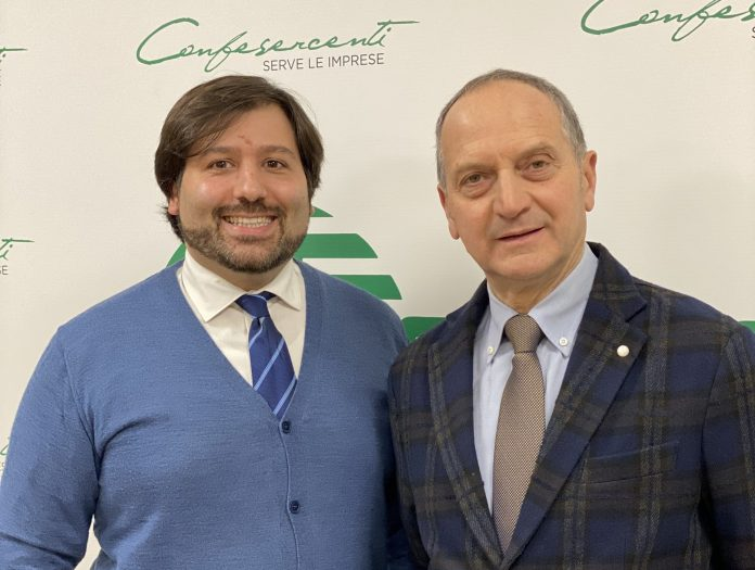Alessandro Torluccio e Paolo Bissoli di Confesercenti Verona
