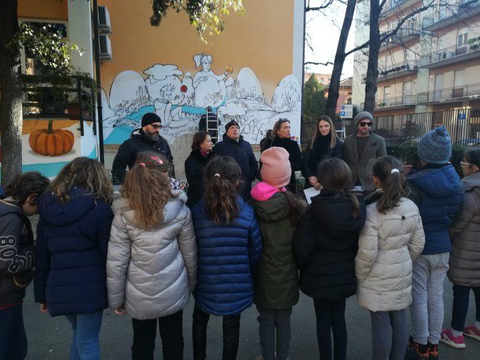 scuole provolo murales