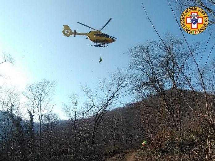 soccorso alpino veneto elicottero verona emergenza