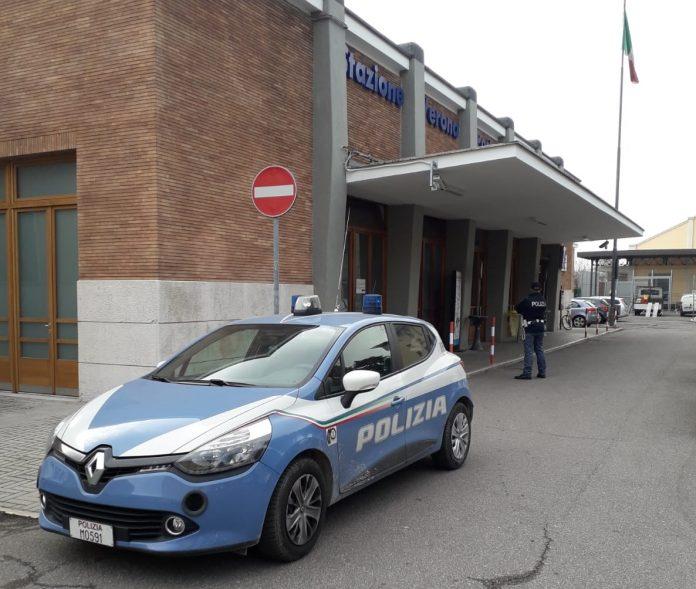 lite alla stazione di verona porta vescovo - polizia