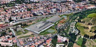 Adige docks veduta aerea viabilità