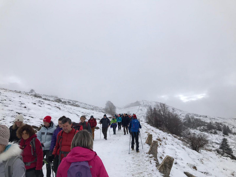 Camminata contro riduzione Parco della Lessinia