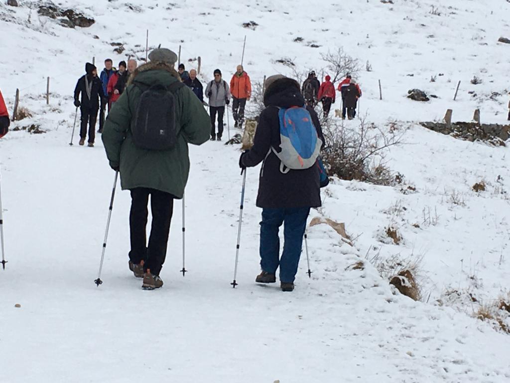 Camminata contro la riduzione Parco della Lessinia