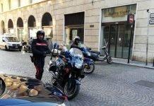 Carabinieri arresti indagato per violenza sessuale