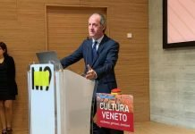 Luca Zaia inaugura Cultura Veneto
