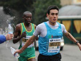Daniele Meucci alla mezza maratona di Verona nel 2014