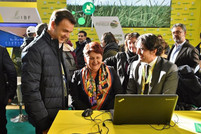 Ettore Prandini - Teresa Bellanova - Coldiretti - agricoltura 4.0