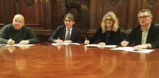 firma protocollo d'intesa per agsm sindaco sindacati