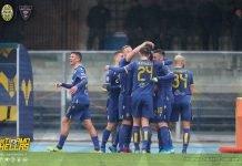 Hellas Lecce Fotoexpress Francesco Grigolini da pagina Facebook Hellas Verona FC