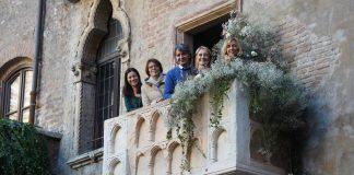 Balcone di Giulietta con l'amministrazione