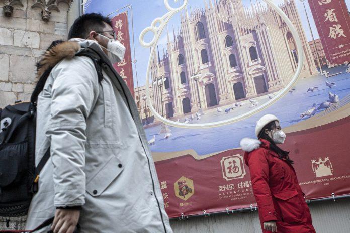 Coronavirus due turisti cinesi