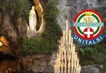 pellegrinaggio a Lourdes di unitalsi