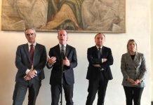 firma accordo medici specializzandi veneto - Rosario Rizzuto, Luca Zaia, Pier Francesco Nocini, Manuela Lanzarin