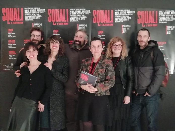 Il gruppo di Orizzonti Teatrali