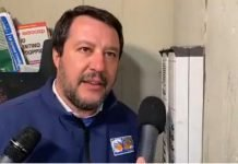 video di Salvini al citofono