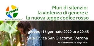 violenza di genere codice rosso borgo roma