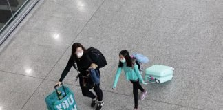 Virus cinese in aereoporto