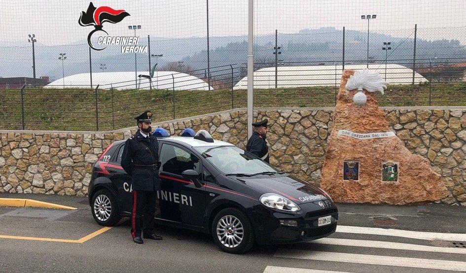 Carabinieri spaccio -Grezzana