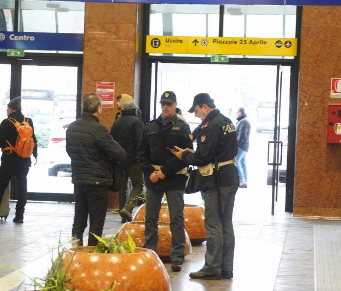 Polfer Arresto Verona Porta Nuova cocaina