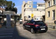 corsa speciale dei carabinieri in ospedale