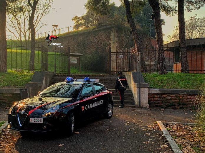 carabinieri droga a verona
