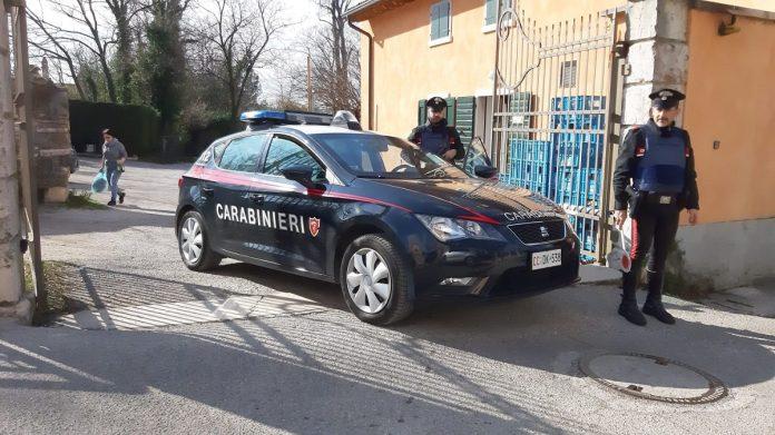 furto nelle auto rivoli veronese carabinieri