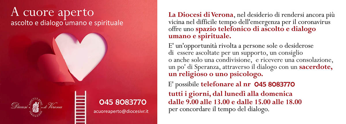A cuore aperto - iniziativa Diocesi di Verona