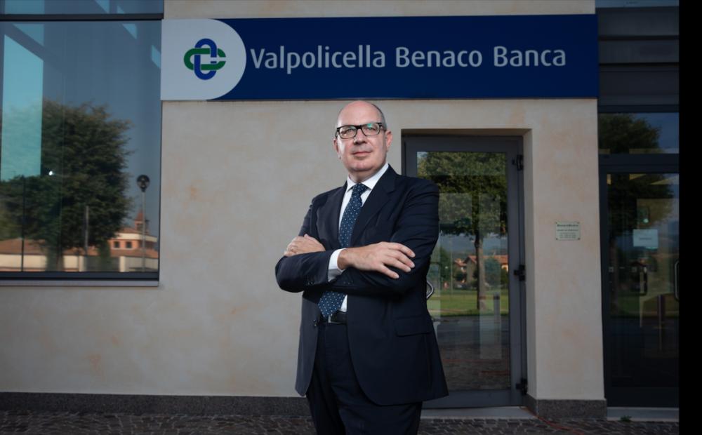 Alessandro De Zorzi dg Valpolicella Benaco Banca