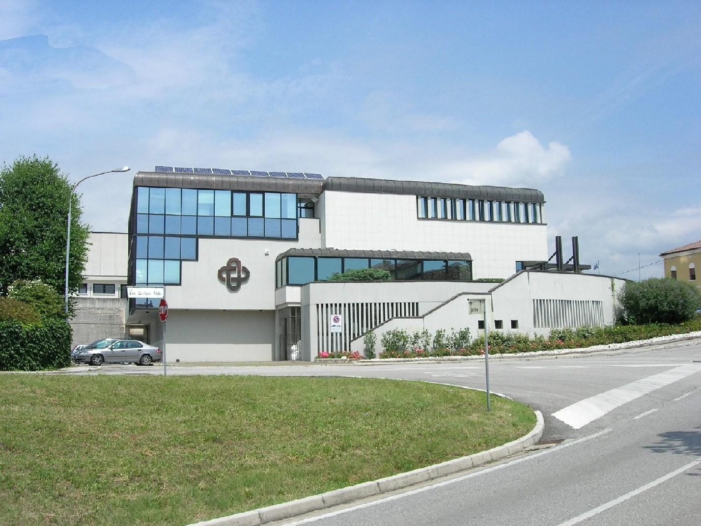 Sede di Quinto Valle Agno che sarà sede legale della Banca di Verona e Vicenza.