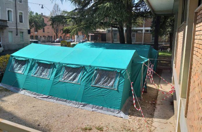 senza fissa dimora comune di verona - tenda dormitorio camploy