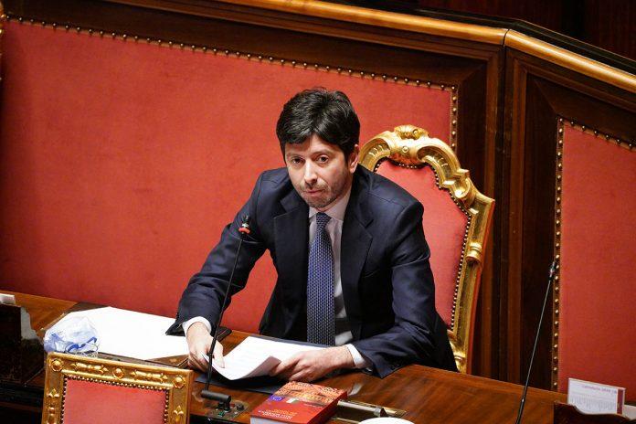 IMAGO ECONOMICA 2020 - Roberto Speranza Ministro della Salute