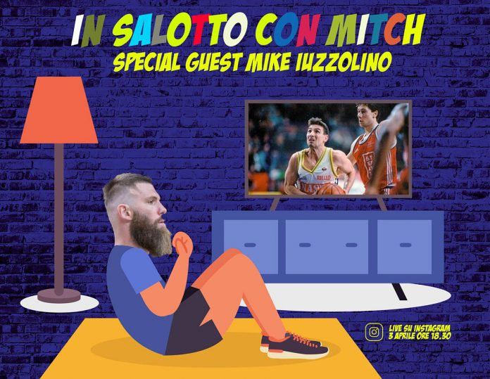 In salotto con Mitch - Scaligera Basket Verona - Mitchell Poletti - Mike Iuzzolino Instagram