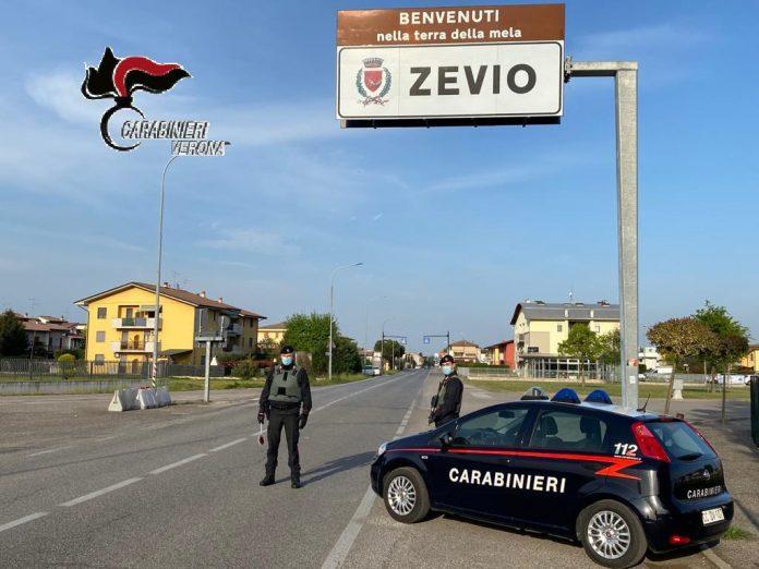 carabinieri zevio marijuana