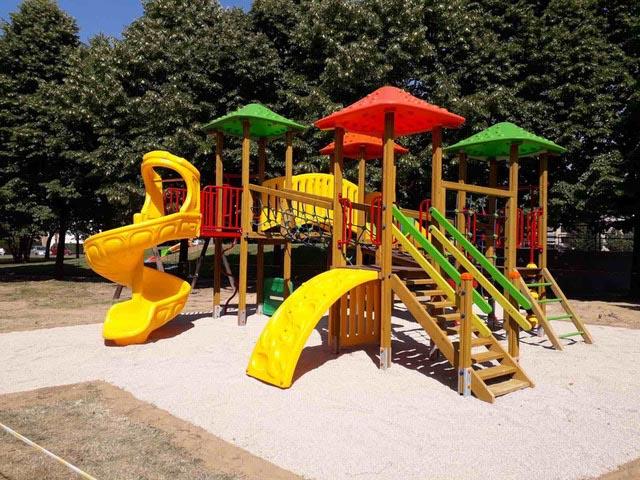 Aree giochi per bambini - San Martino Buon Albergo