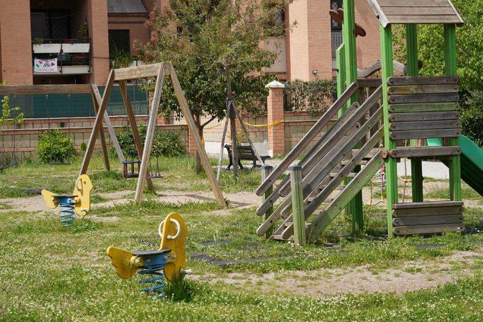 IMAGO ECONOMICA 2020 parco giochi parchi gioco