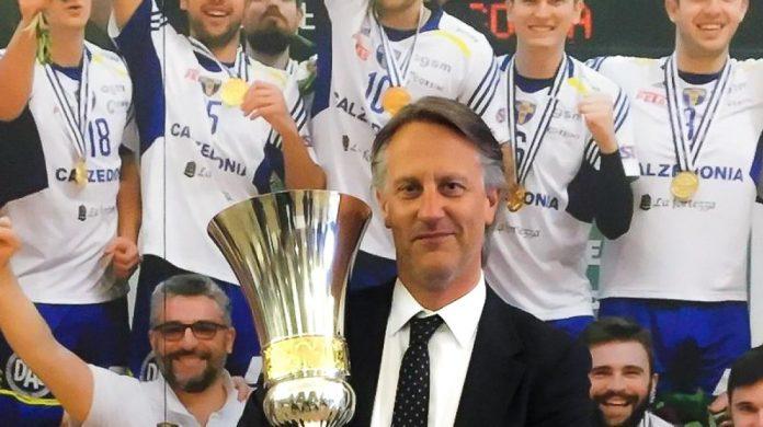 Stefano Fanini BluVolley Verona - vicepresidente Lega Volley