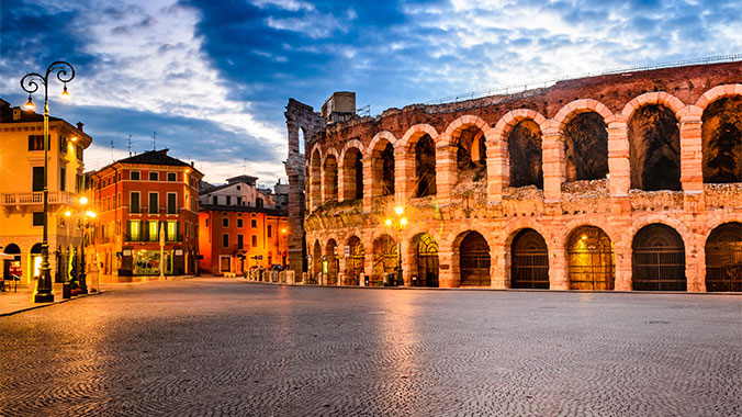 L'Arena di Verona.