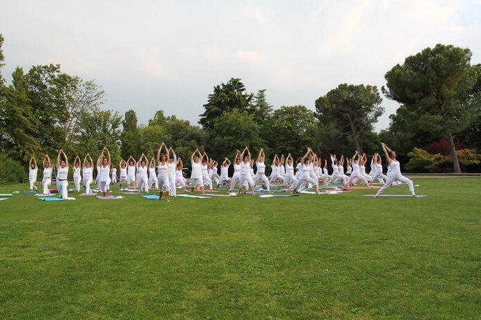 yoga parco sigurtà