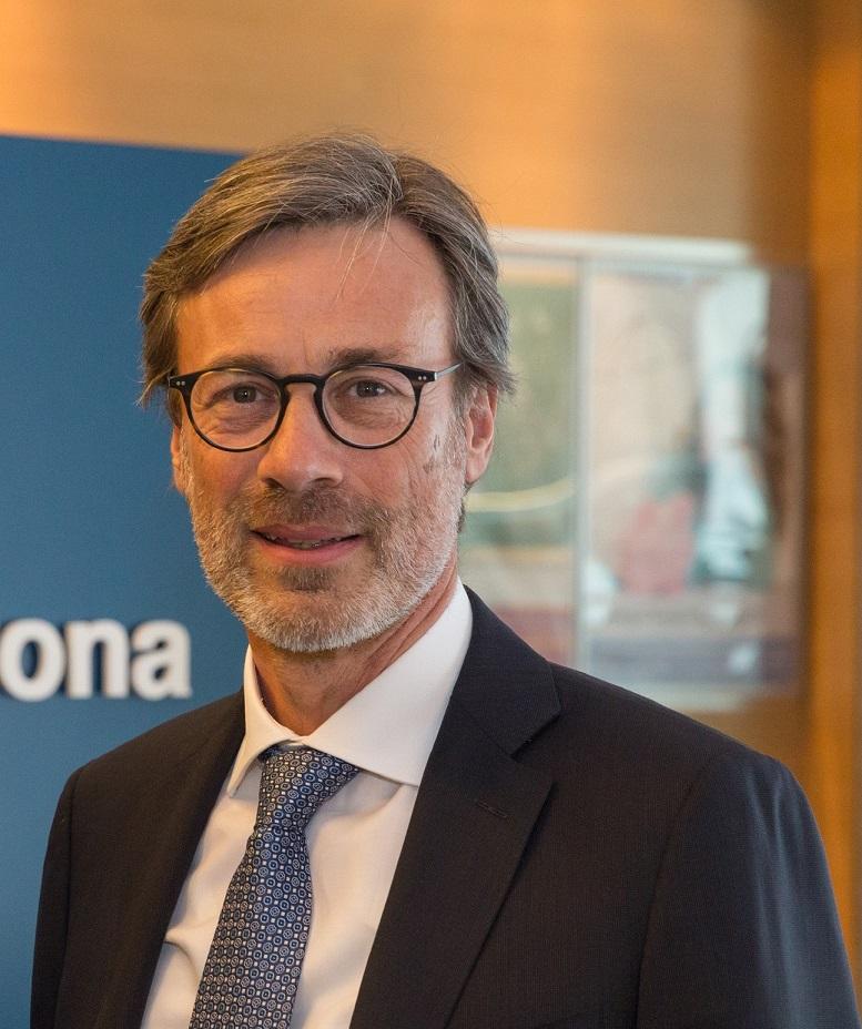 Valentino Trainotti, direttore generale di Banca di Verona