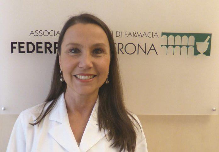 Elena Vecchioni presidente Federfarma Verona