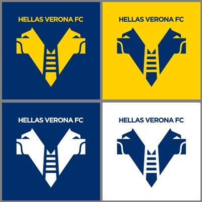 Hellas Verona nuovo logo