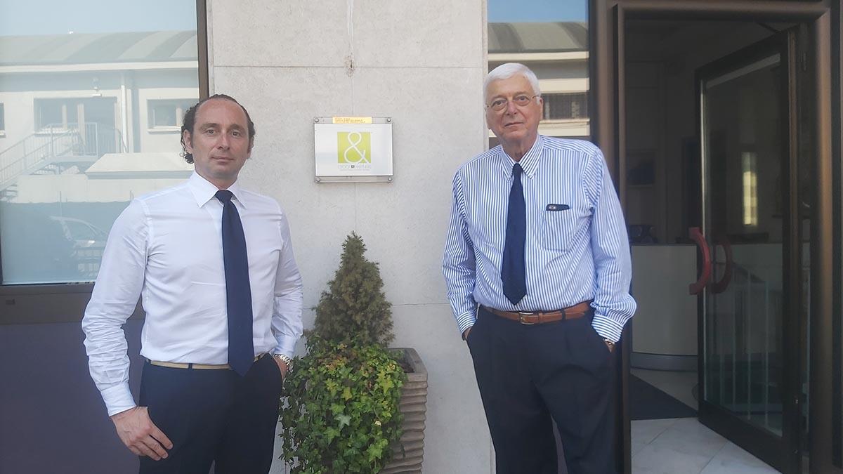 Michele Croce e Gian Paolo Sardos Albertini