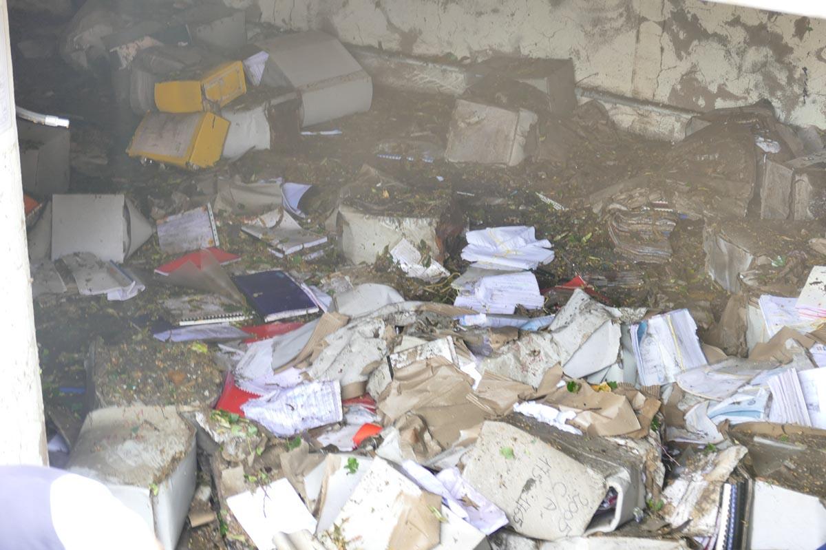 allagato archivio edilizia privata Comune di Verona via Adigetto