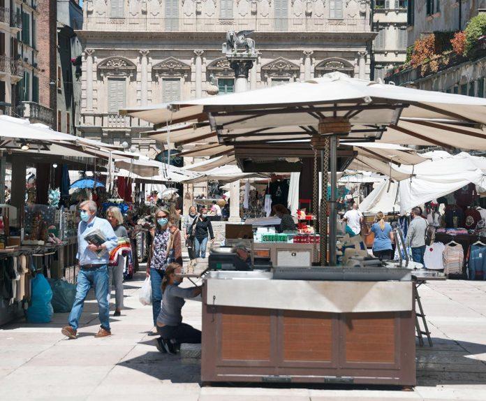 mercato piazza Erbe