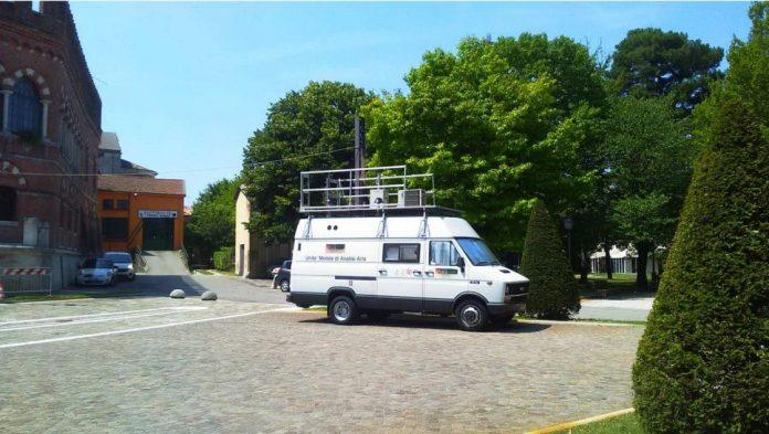 qualità dell'aria - centralina arpav a Cologna Veneta