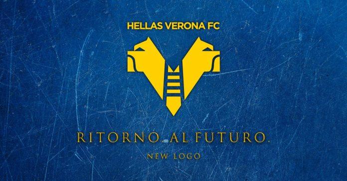 Hellas Verona nuovo logo ritorno al futuro