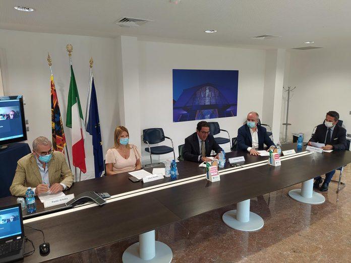 Destination Verona - da sinistra Paolo Artelio, Silvia Nicolis, Giuseppe Riello, Paolo Tosi, Daniele Moretti