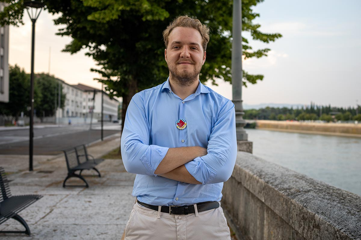 Giacomo Cona, segretario Traguardi
