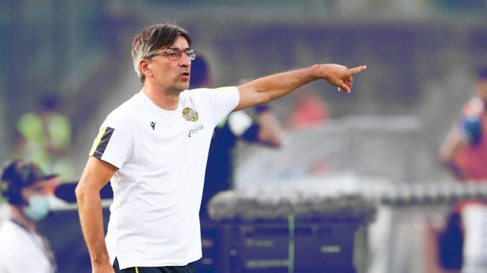 Ivan Juric, tecnico dell'Hellas Verona.